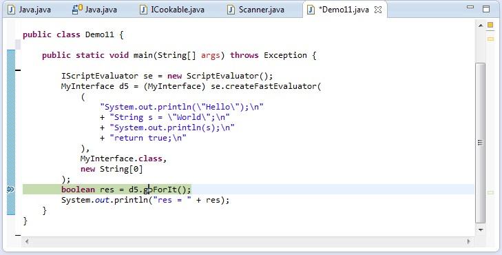 Janino by janino-compiler